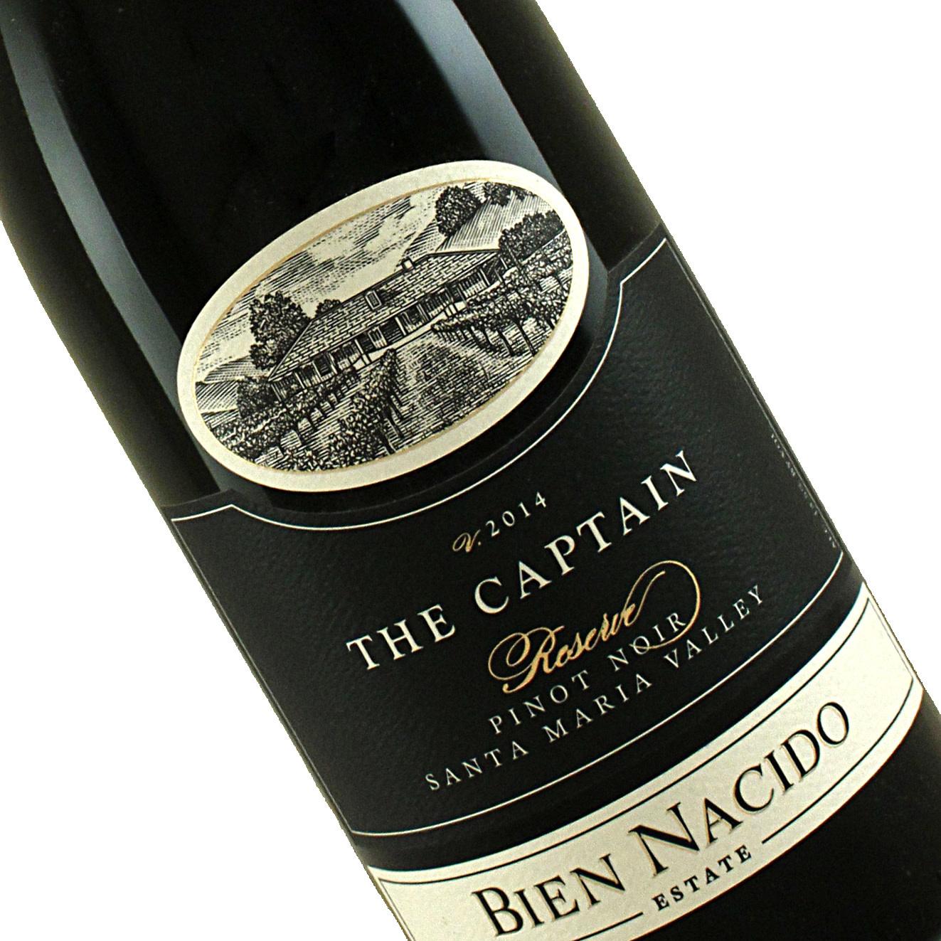 "Bien Nacido 2014 Reserve Pinot Noir ""The Captain"", Santa Maria Valley"