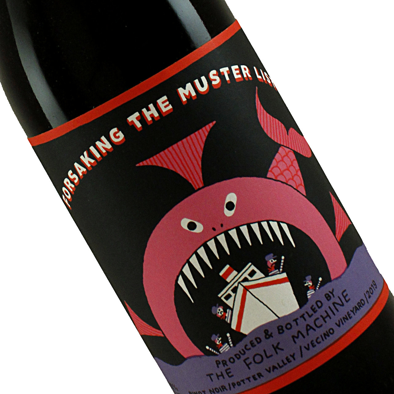 "Folk Machine 2019 Pinot Noir ""Forsaking the Muster List"", Potter Valley"