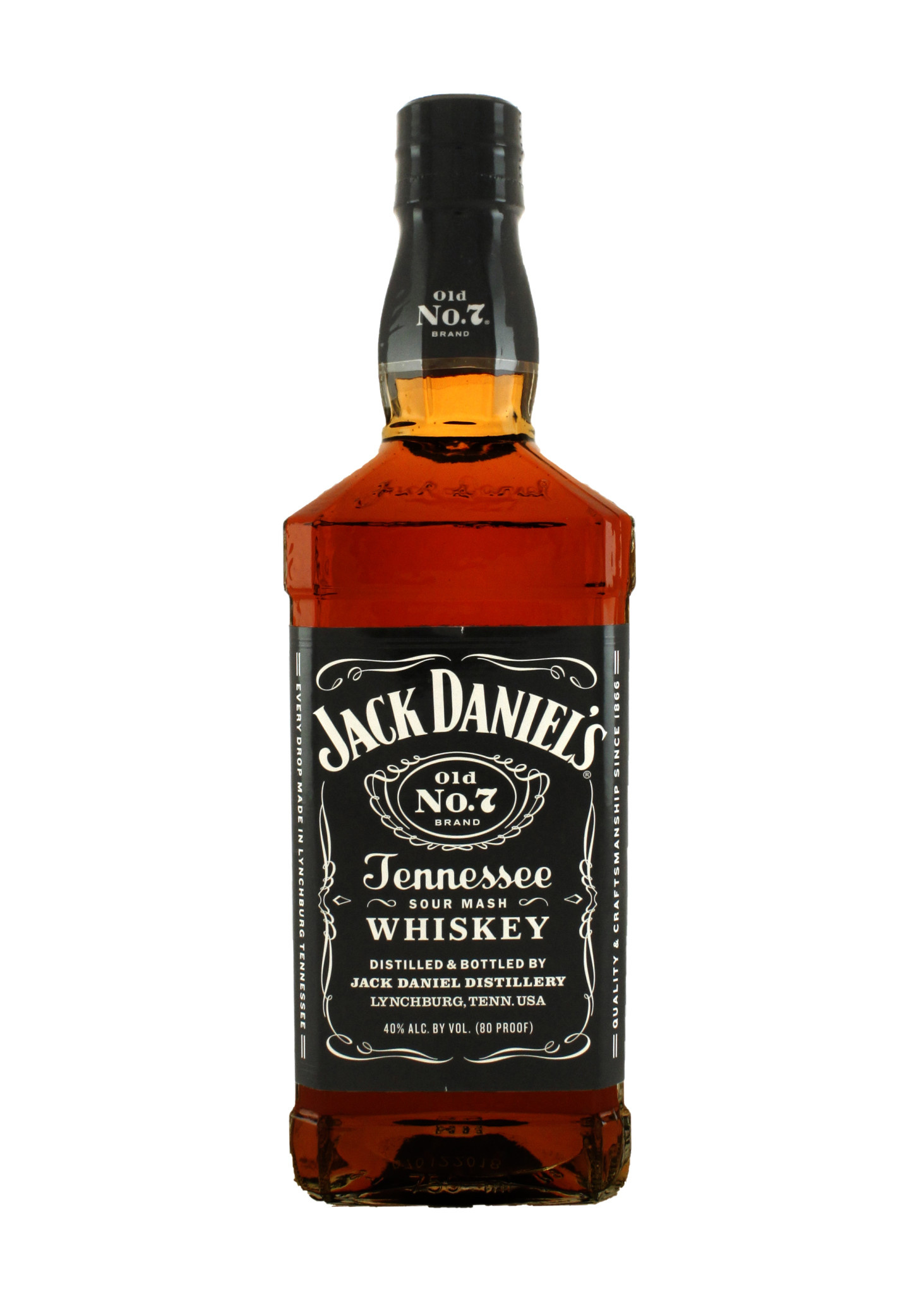 Jack Daniel's Old No. 7 Tennessee Whiskey, Lynchburg, Tennessee