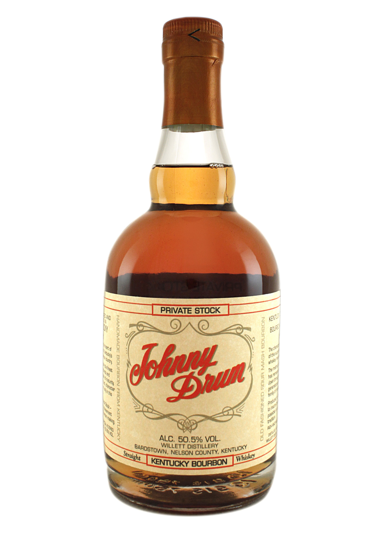 Johnny Drum Private Stock Kentucky Bourbon Whiskey, Bardstown, Kentucky