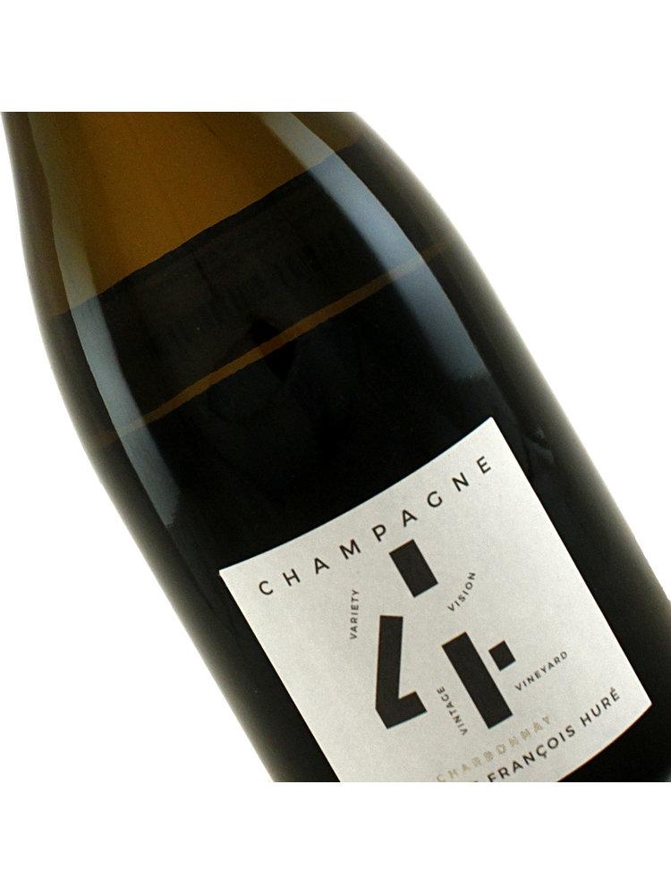 "Hure Freres 2014 ""4V"" Champagne Extra Brut Chardonnay"
