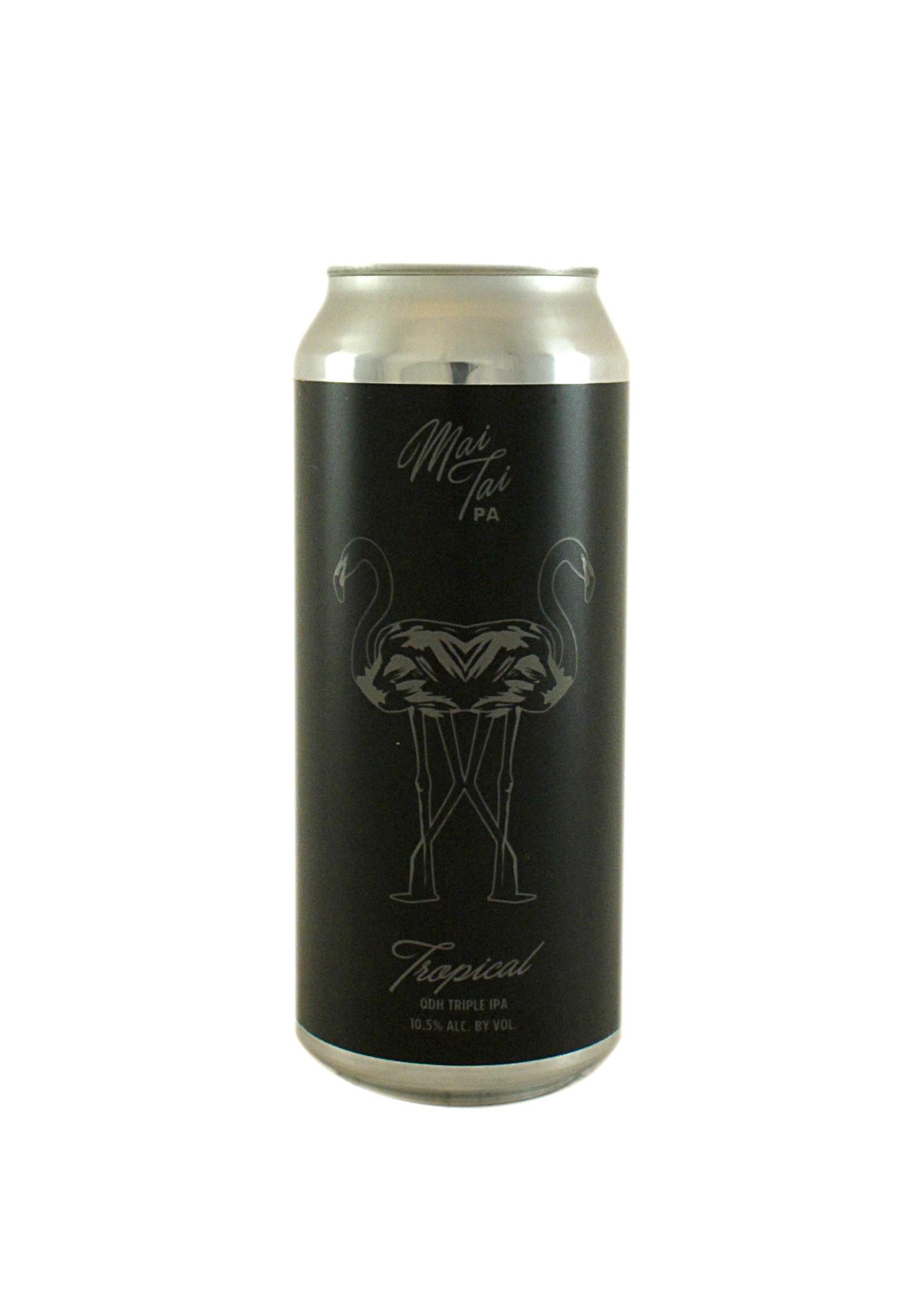 """Alvarado Street Brewing """"Mai Tai"""" Black Label Tropical Triple IPA 16oz. Can - Salinas, CA"""