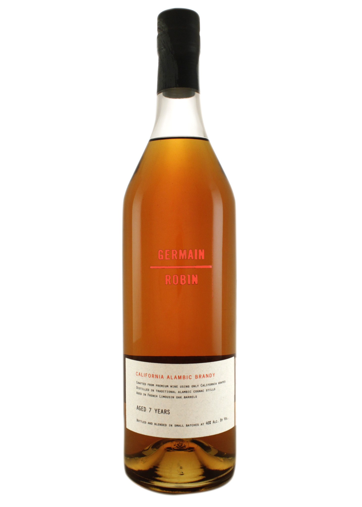 Germain-Robin Flagship Alambic Brandy, Aged 7 Years, California