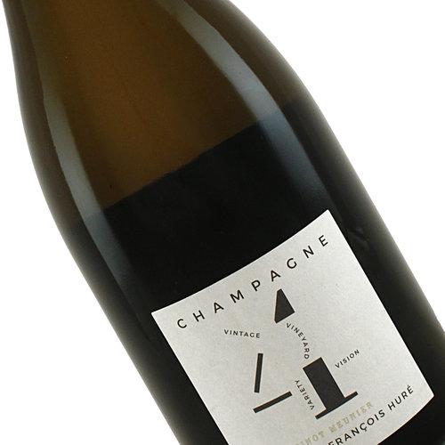 "Hure Freres 2014 ""4V"" Champagne Extra Brut Pinot Meunier"