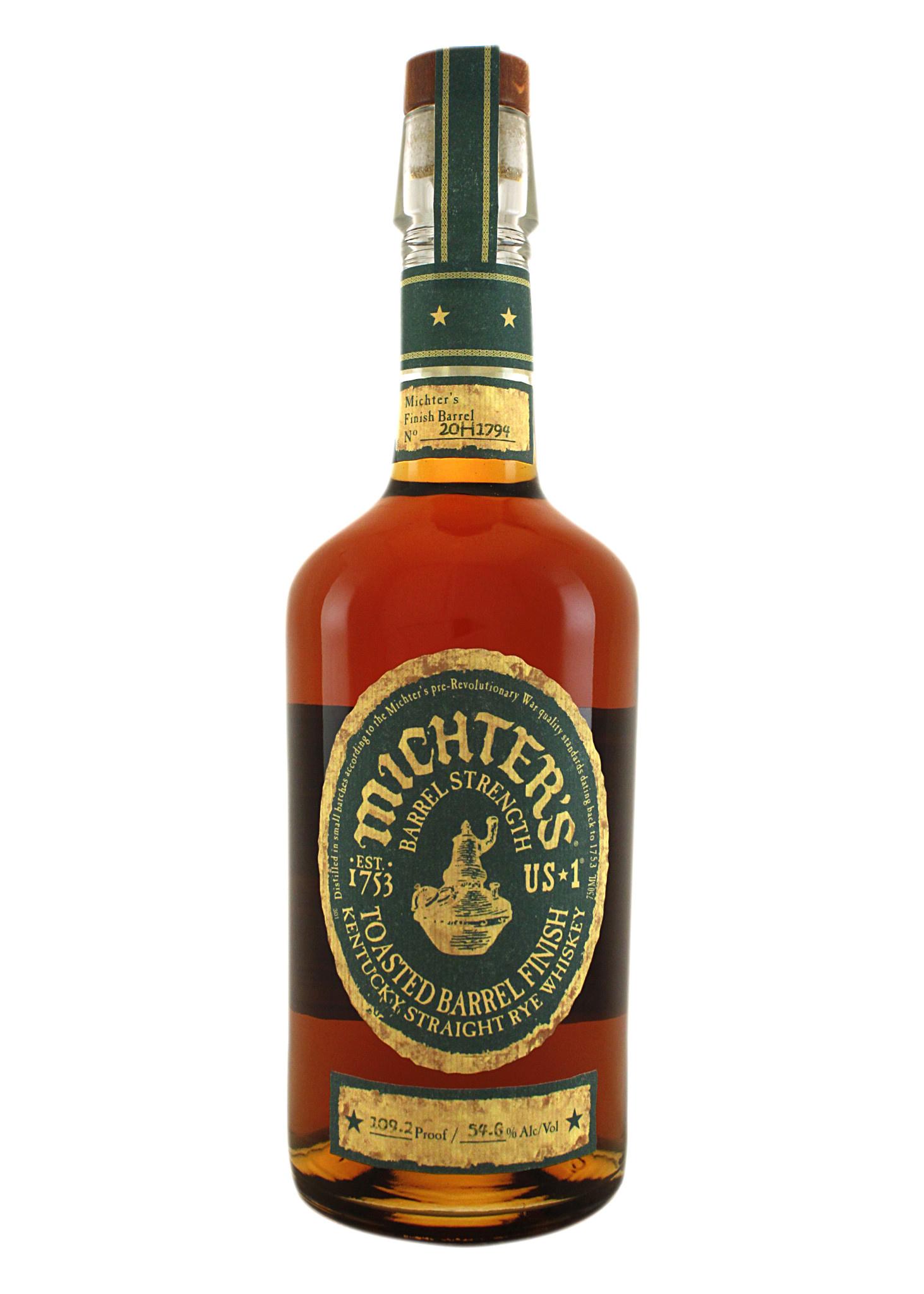 Michter's Toasted Barrel Kentucky Straight Rye Whiskey, Louisville, Kentucky