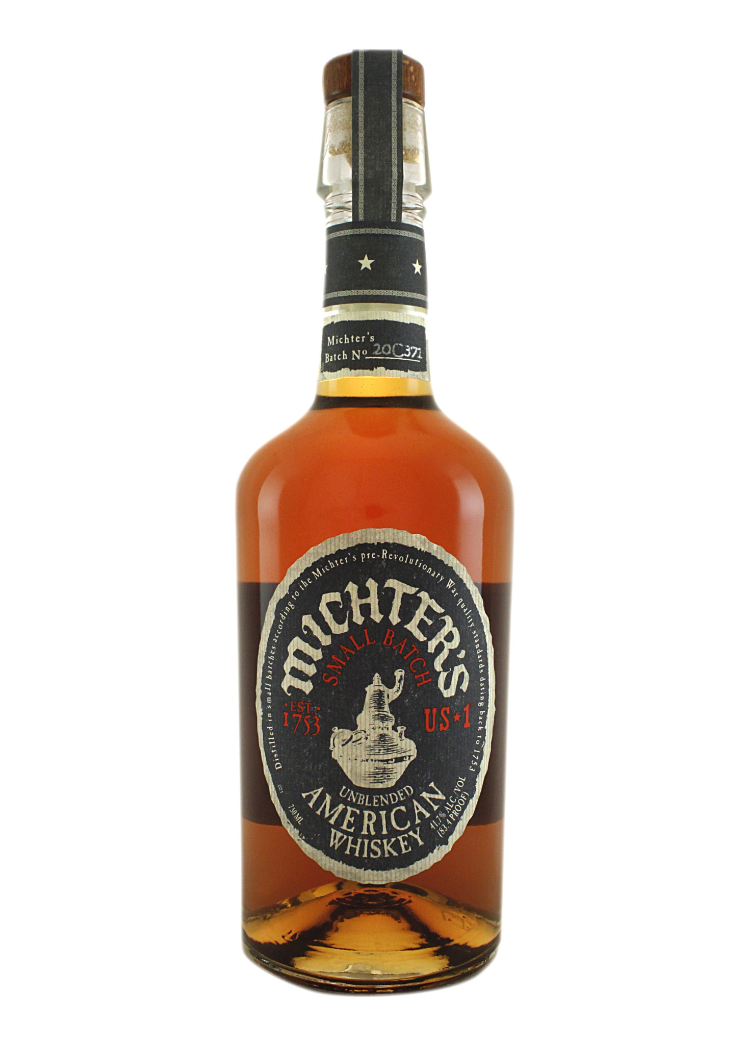 Michter's Small Batch Unblended American Whiskey, Louisville, Kentucky