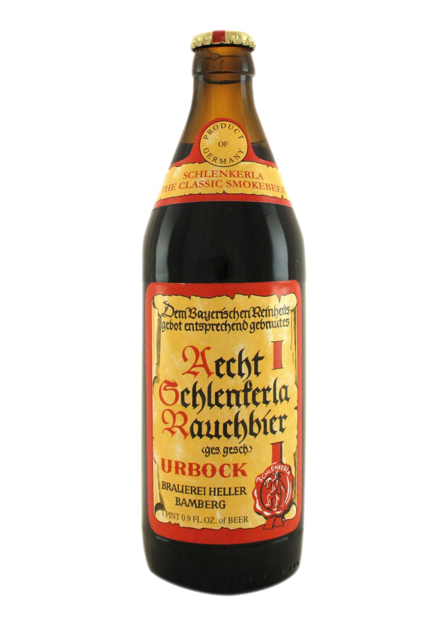 "Aecht ""Rauchbier Urbock"", Germany 500ml bottles"