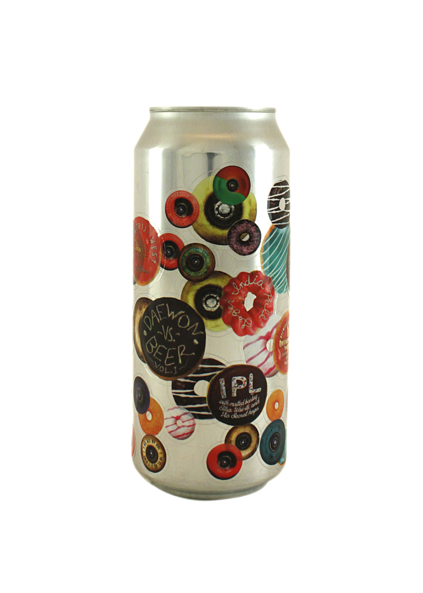 "Brouwerij West ""Daewon Vs. Beer- Volume 1"" Hoppy Lager (IPL) 16oz can- San Pedro, CA"