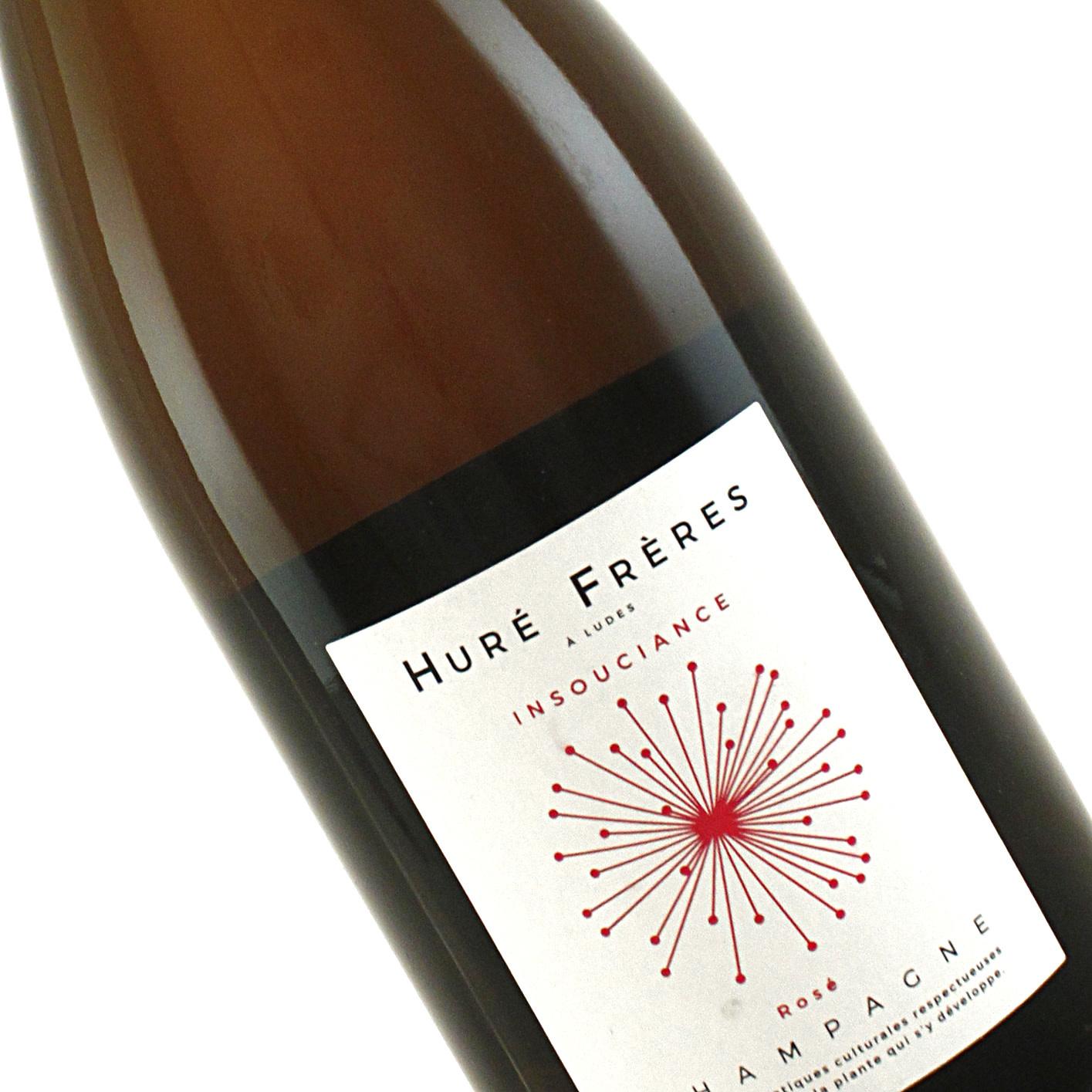 """Hure Freres N.V. Brut Rose """"Insouciance"""" Champagne"""