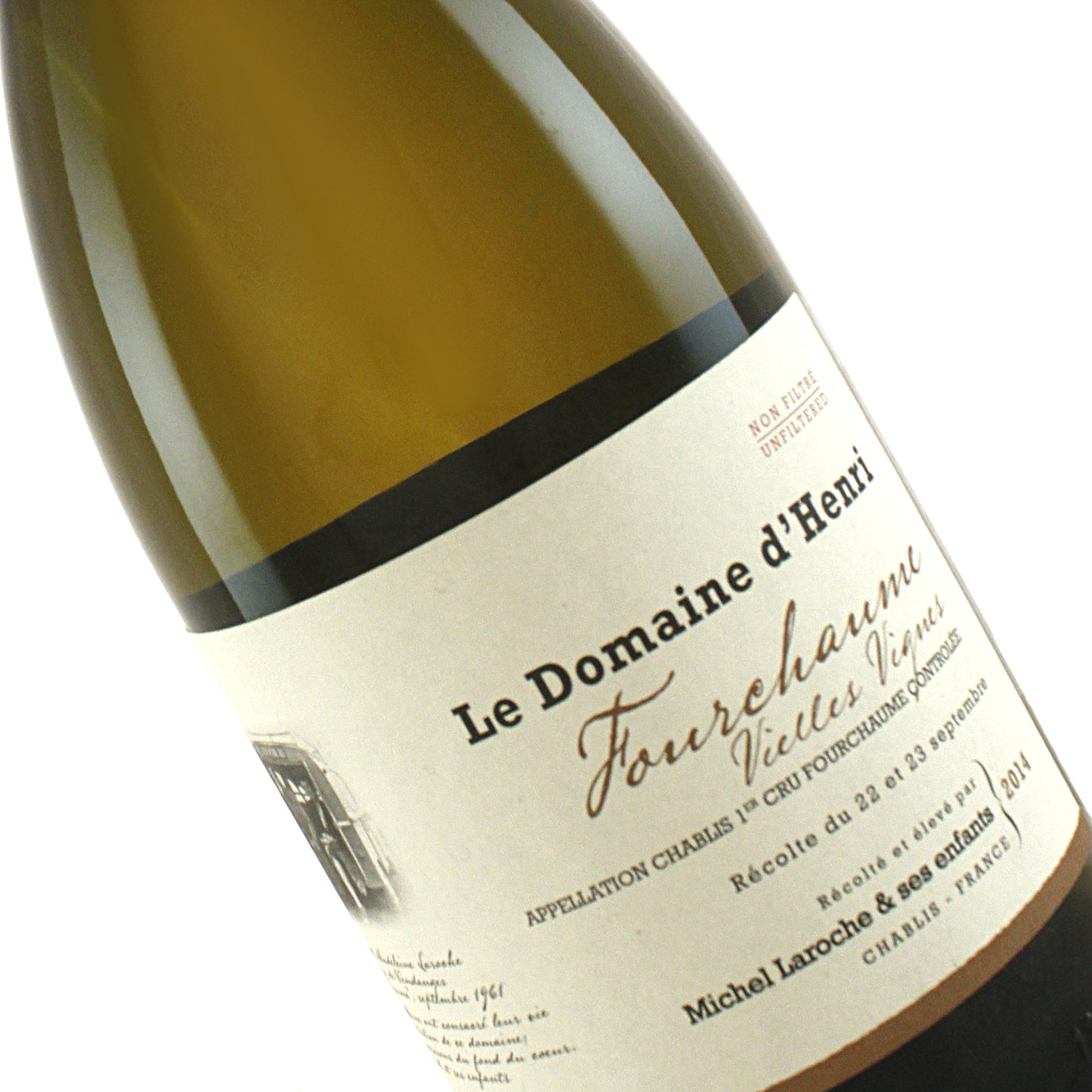 Domaine d'Henri 2014 Chablis1er Cru  Fourchaume, Burgundy