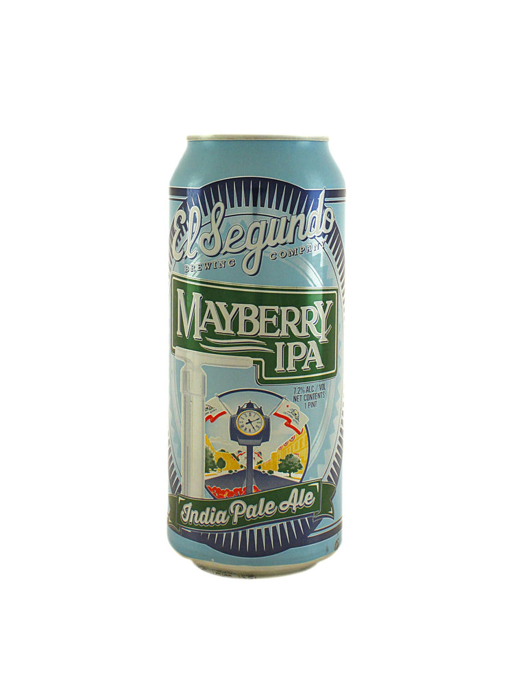 "El Segundo Brewing ""Mayberry IPA"" 16oz. can, California"