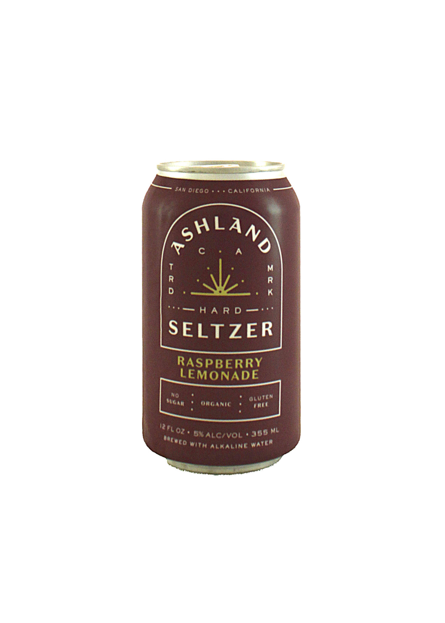 Ashland Hard Seltzer Raspberry Lemonade, Organic 12oz. Can - San Diego, CA