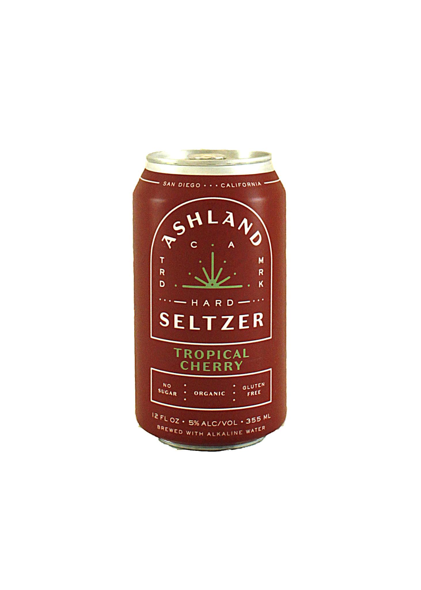 Ashland Hard Seltzer Tropical Cherry, Organic 12oz. Can
