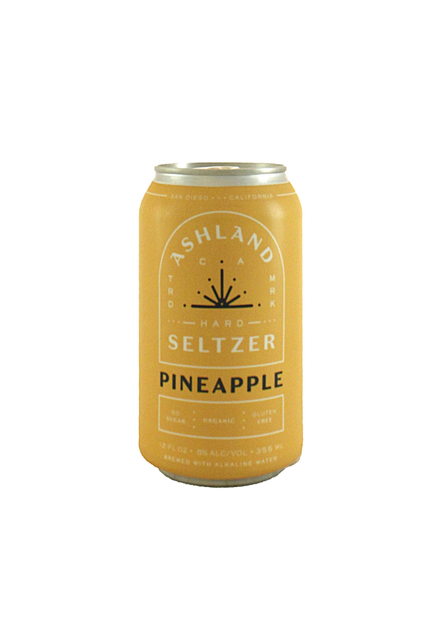"Ashland Seltzer ""Pineapple"" Pineapple seltzer 12oz can- San Diego, CA"