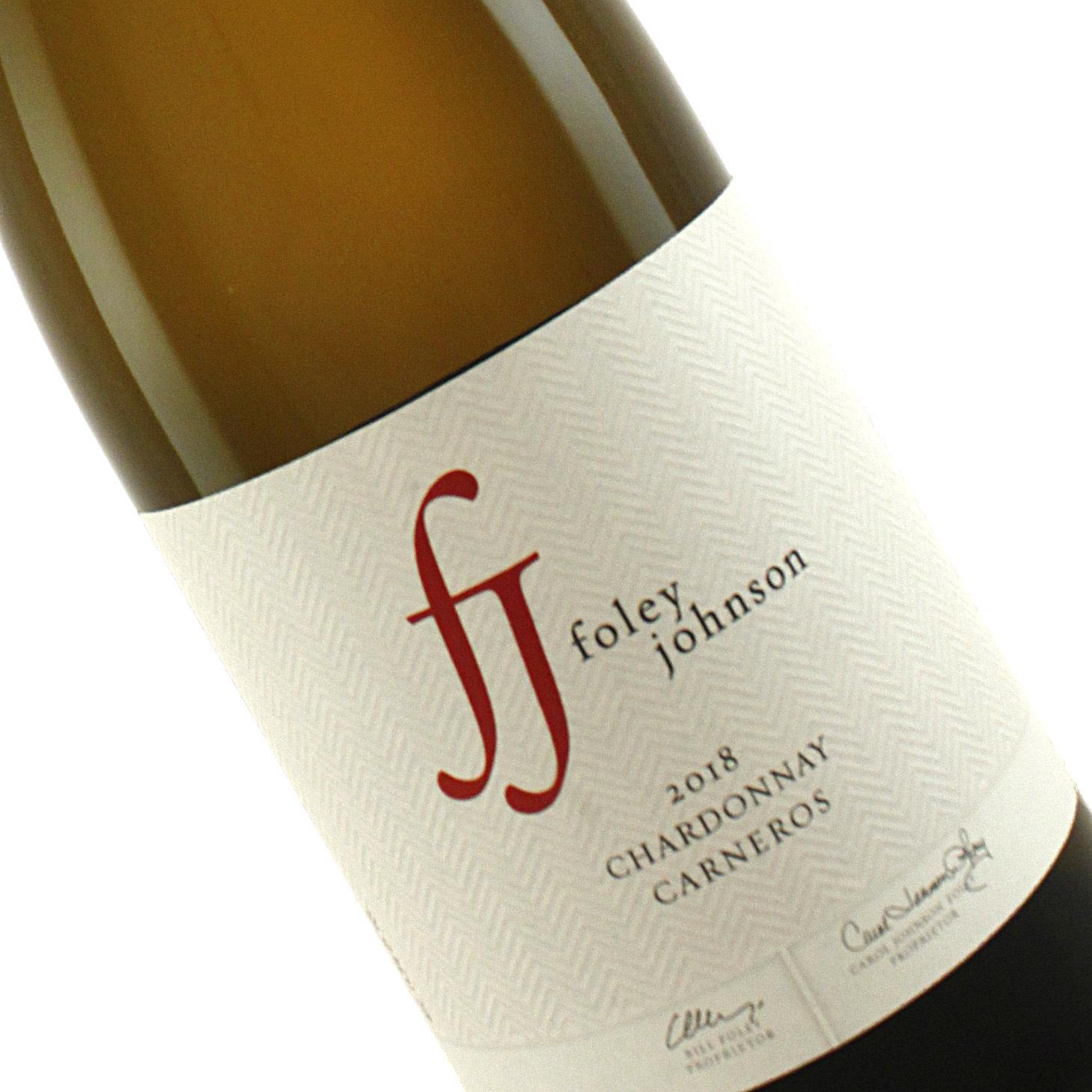 Foley Johnson 2018 Chardonnay Carneros, Sonoma County