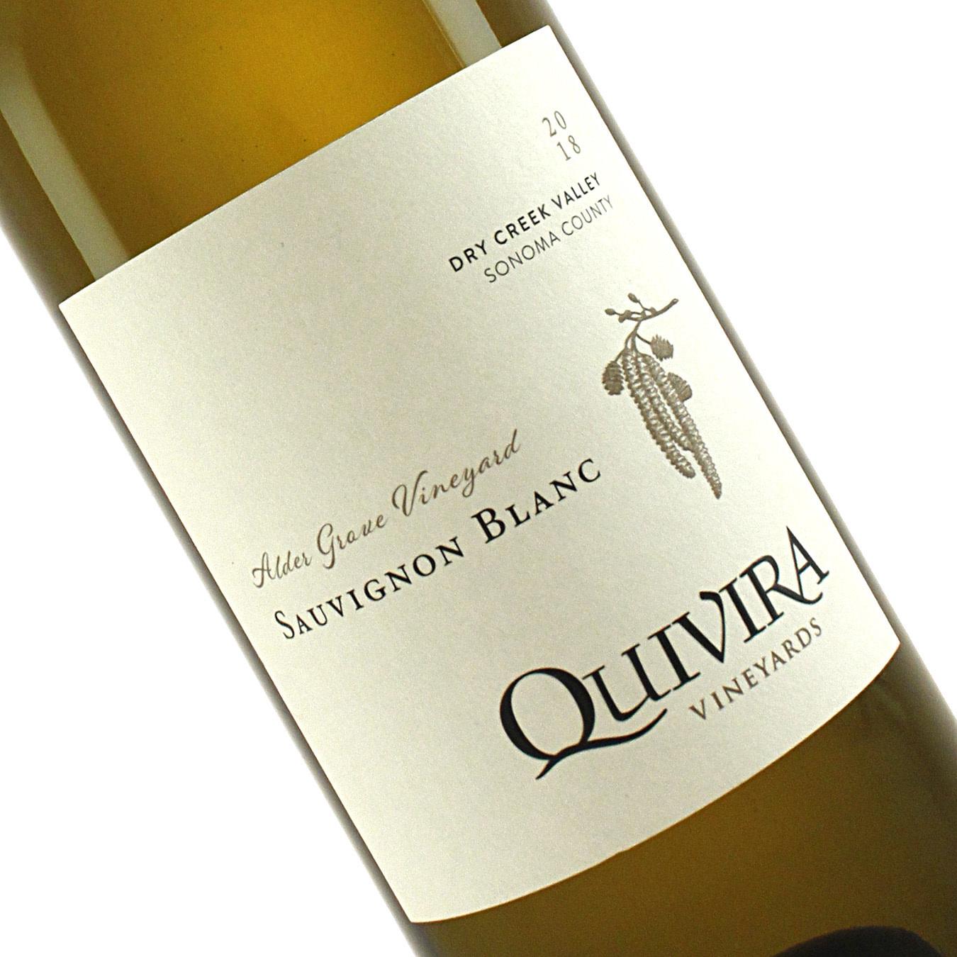 Quivira 2018 Sauvignon Blanc Alder Grove Vineyard, Sonoma