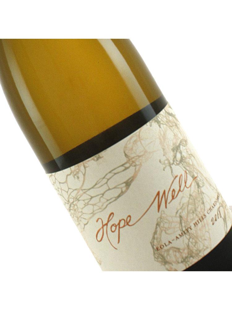 Hope Well 2018 Estate Chardonnay Eola-Amity Hills, Oregon