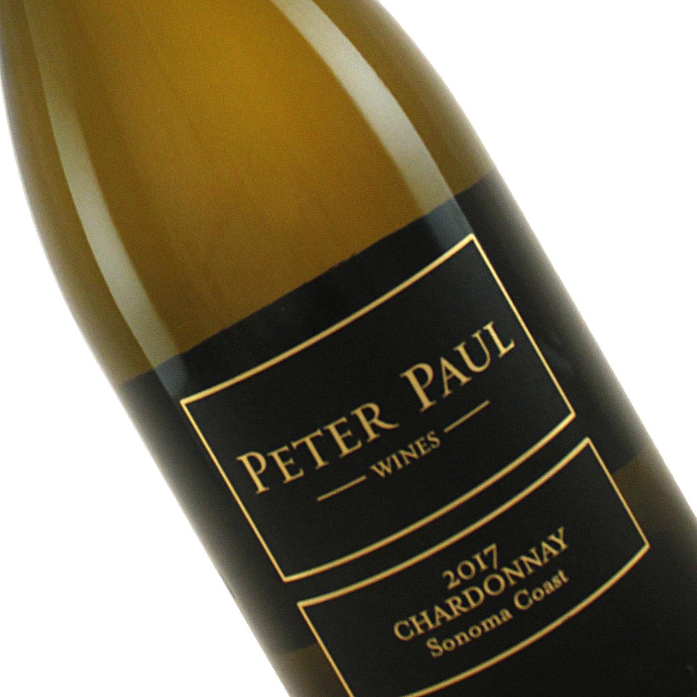 Peter Paul Wines 2017 Chardonnay Sonoma Coast
