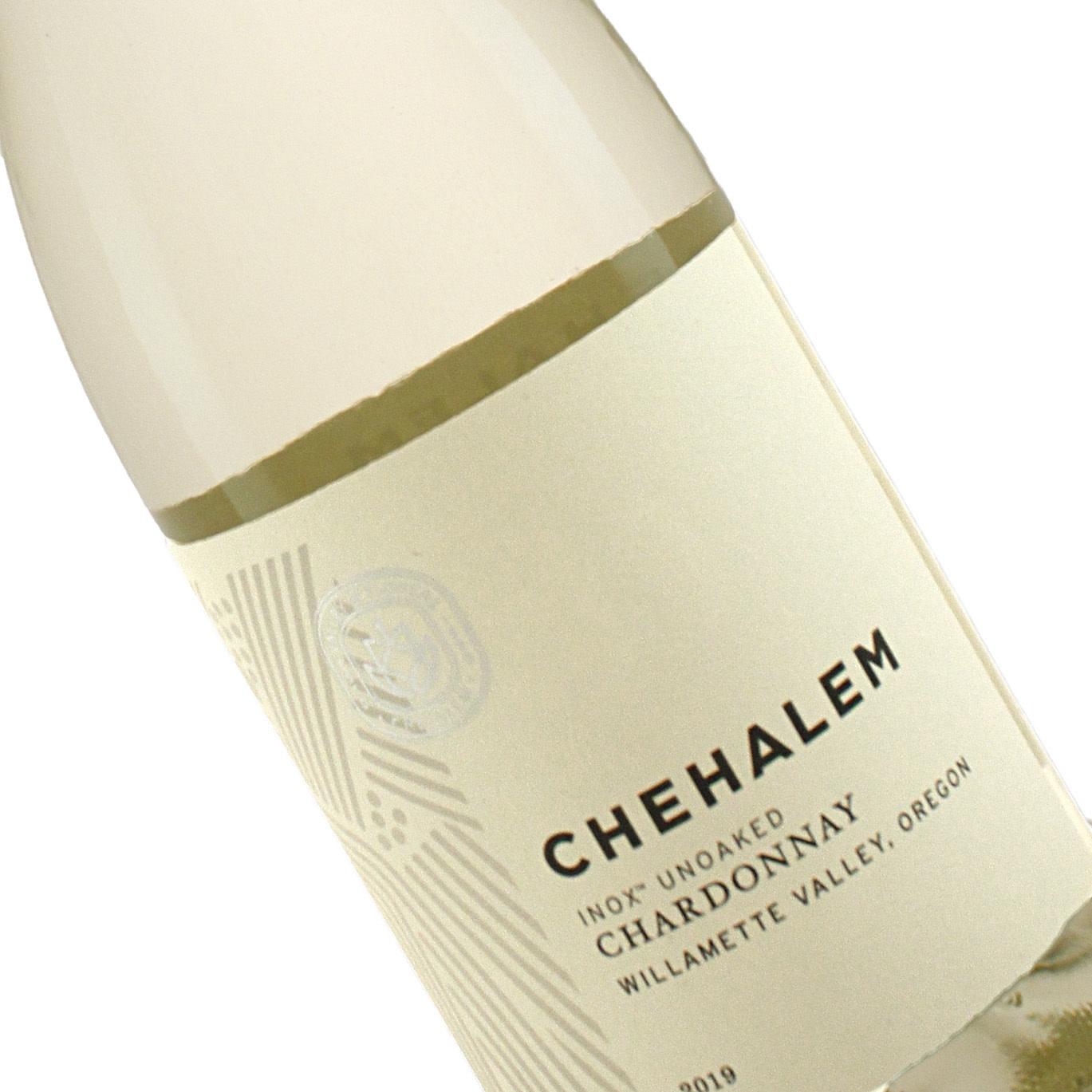 Chehalem 2019 Chardonnay, INOX Unoaked Willamette Valley, Oregon