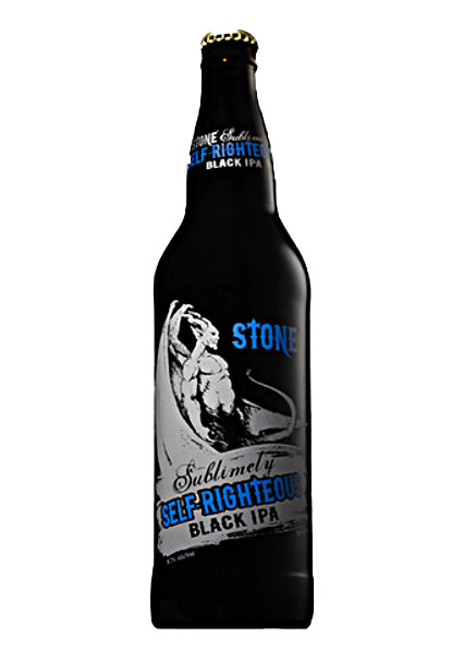 "Stone Brewing ""Sublimely Self-Righteous"" Black IPA 22oz. bottle - Escondido, CA"