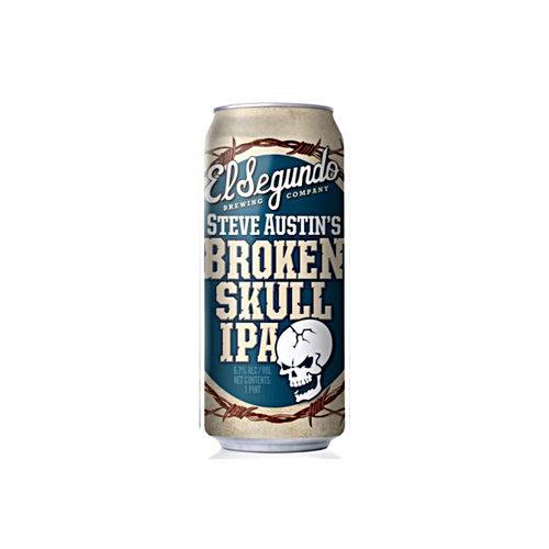 """El Segundo """"Broken Skull IPA"""" India Pale Ale 16oz Can - El Segundo CA"""