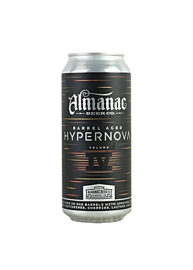 "Almanac Beer Co "" BA Hyper Nova"" fruited ba sour 16oz can- Alameda, Ca"