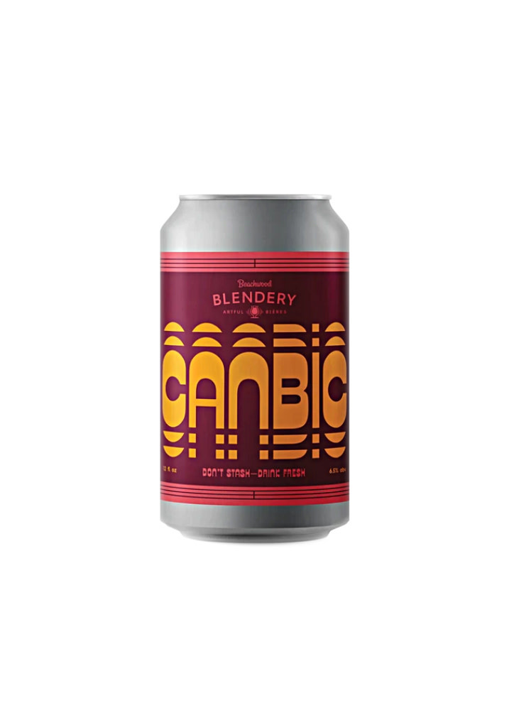 """Beachwood Blendery """"Canbic"""" Inspired by Belgian Lambic Tradition 12oz. Can - Long Beach, CA"""