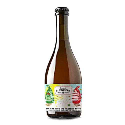 "Beachwood Blendery ""We Are Who We Pretend To Be""  Belgian-Style Sour Ale Fermented in Oak Barrels 500ml. Bottle - California"