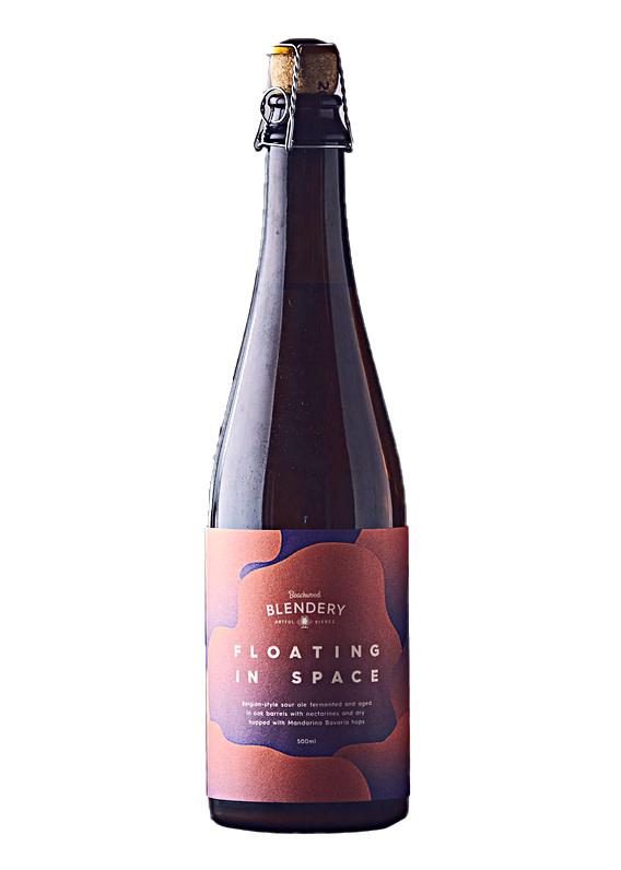 """Beachwood Blendery """"Floating In Space"""" Belgian Sour Ale 500ml. Bottle - Long Beach CA"""