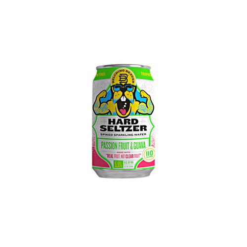 Belching Beaver Seltzers Passion Fruit & Guava Hard Seltzer 12oz. Can - Oceanside, CA