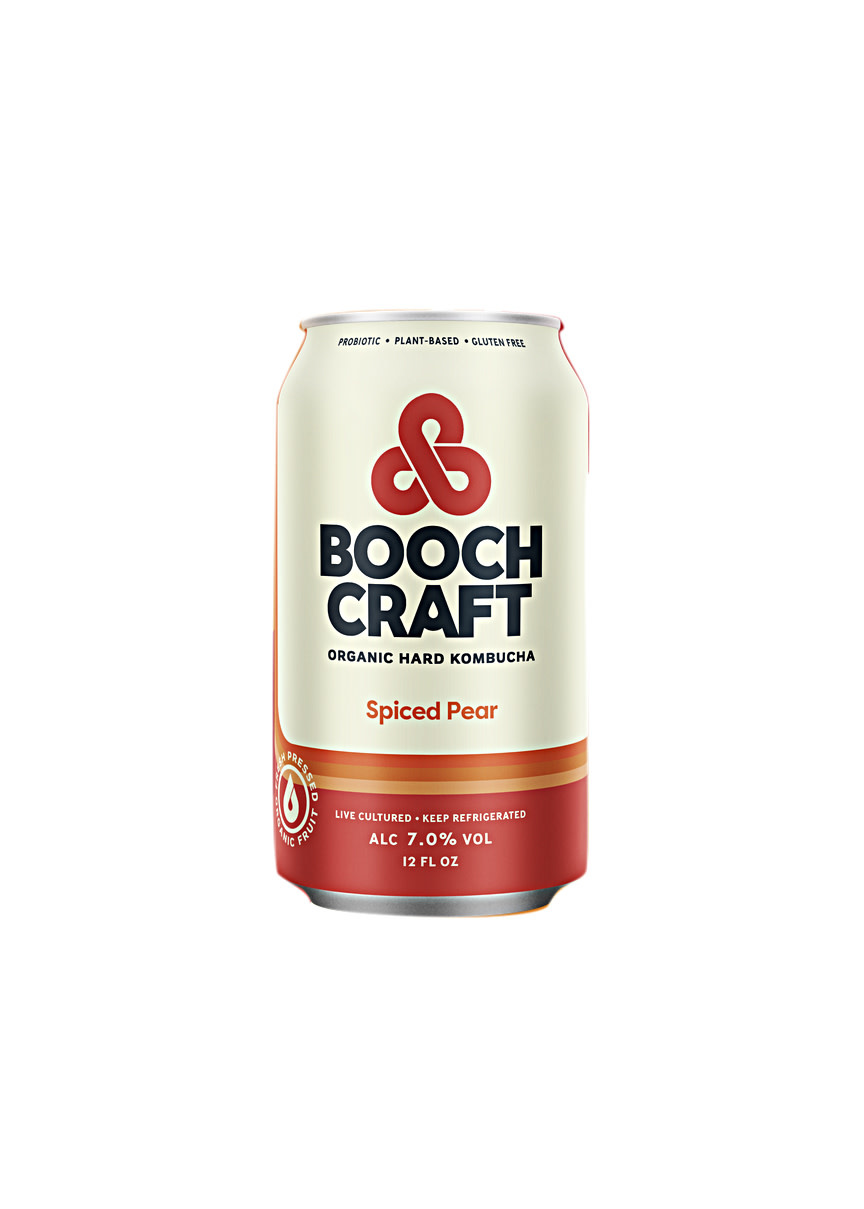 "Booch Craft ""Spiced Pear"" Organic Hard Kombucha 12oz. Can - Chula Vista, CA"