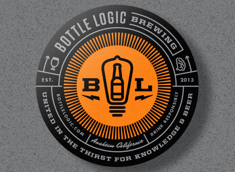 "Bottle Logic ""Stronger Than Fiction"" Strong Ale, California"