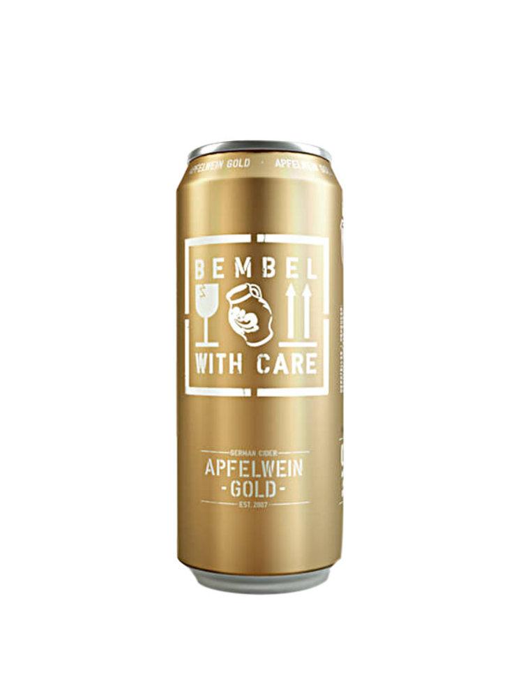 "Bembel With Care ""Apfelwein Gold"" Medium-Dry Cider 16oz. Germany"