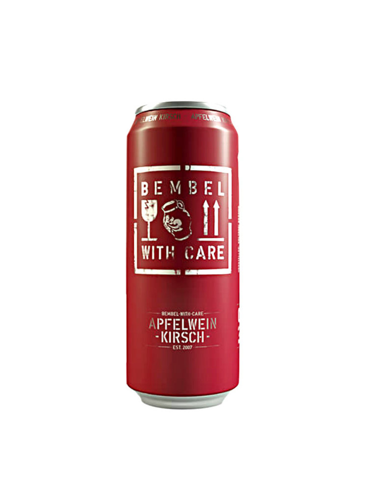 """Bembel With Care """"Apfelwein Kirsch"""" Cherry Cider 16oz. Germany"""