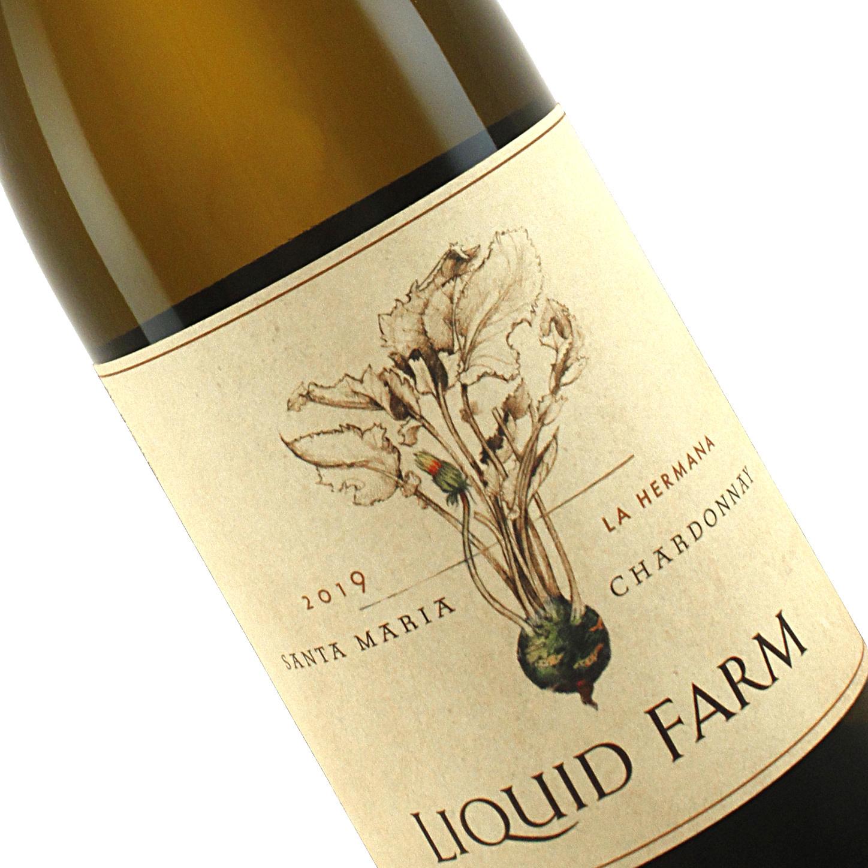 "Liquid Farm 2019 Chardonnay ""La Hermana"" Santa Maria"