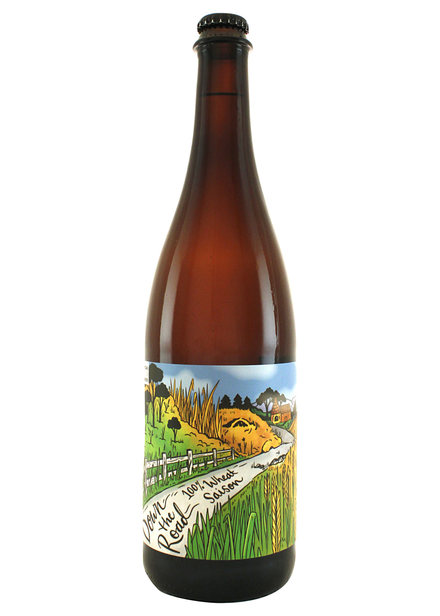 "Urban Roots ""Down The Road"" Wheat Saison 765ml bottle-Sacramento, CA"