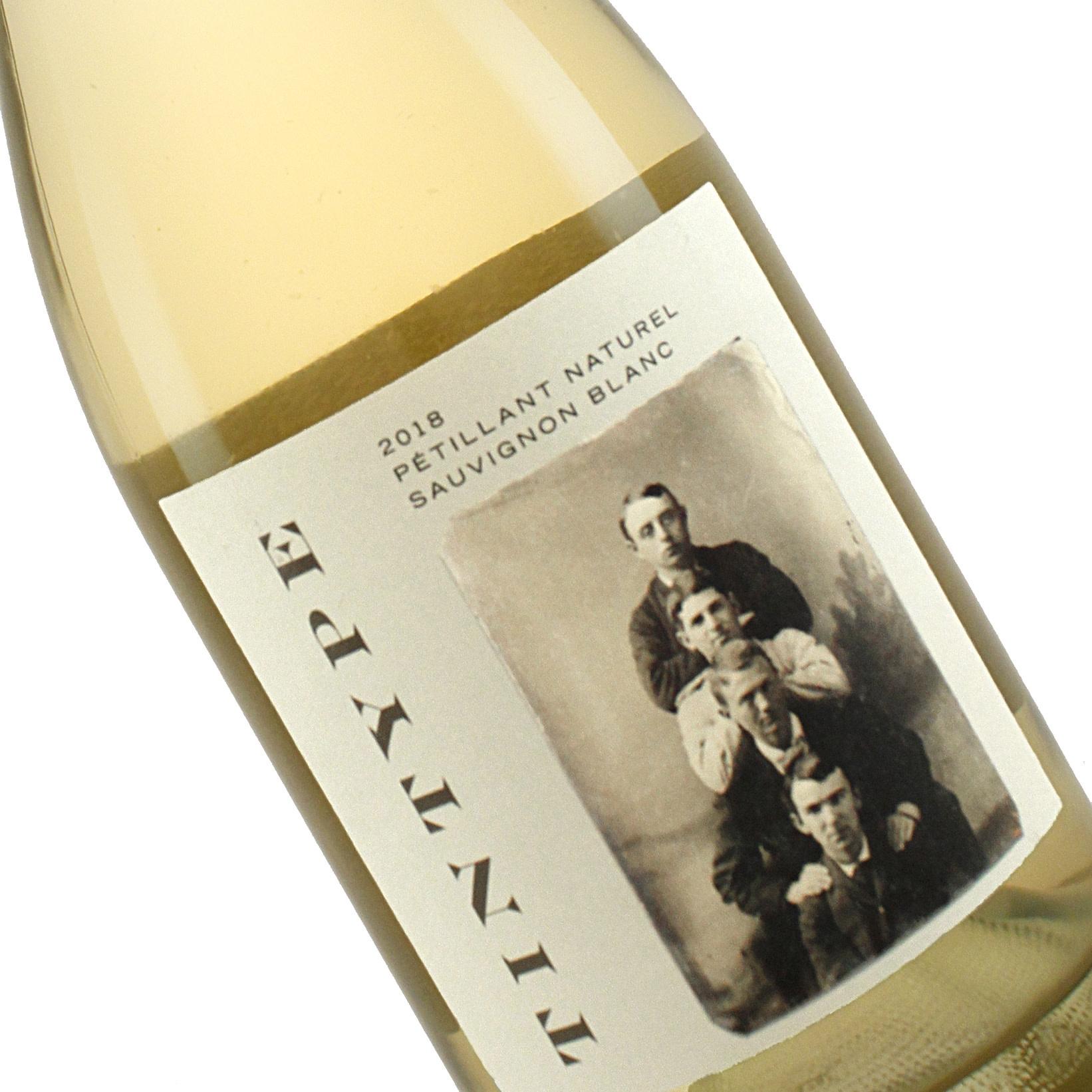 Tintype 2018 Sauvignon Blanc Petillant Naturel Vecino Vineyard, Mendocino County