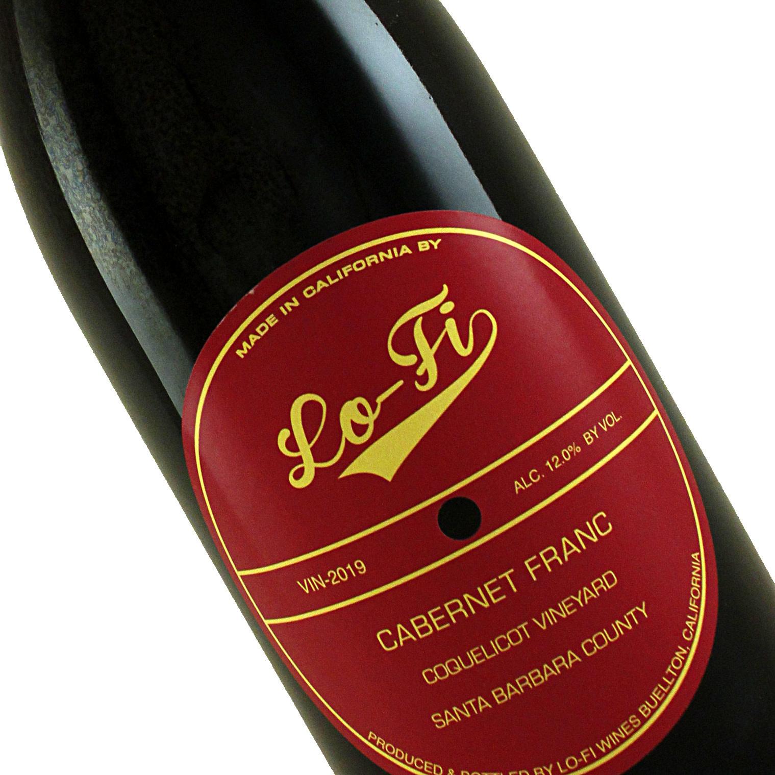 Lo-Fi Wines 2019 Cabernet Franc Coquelicot Vineyard, Santa Barbara County