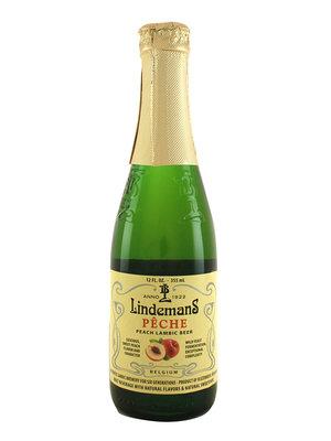 """Lindemans """"Peche"""" Peach Lambic Beer 12oz. - Belgium"""