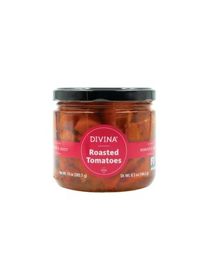 Divina, Roasted Tomatoes, 10 oz