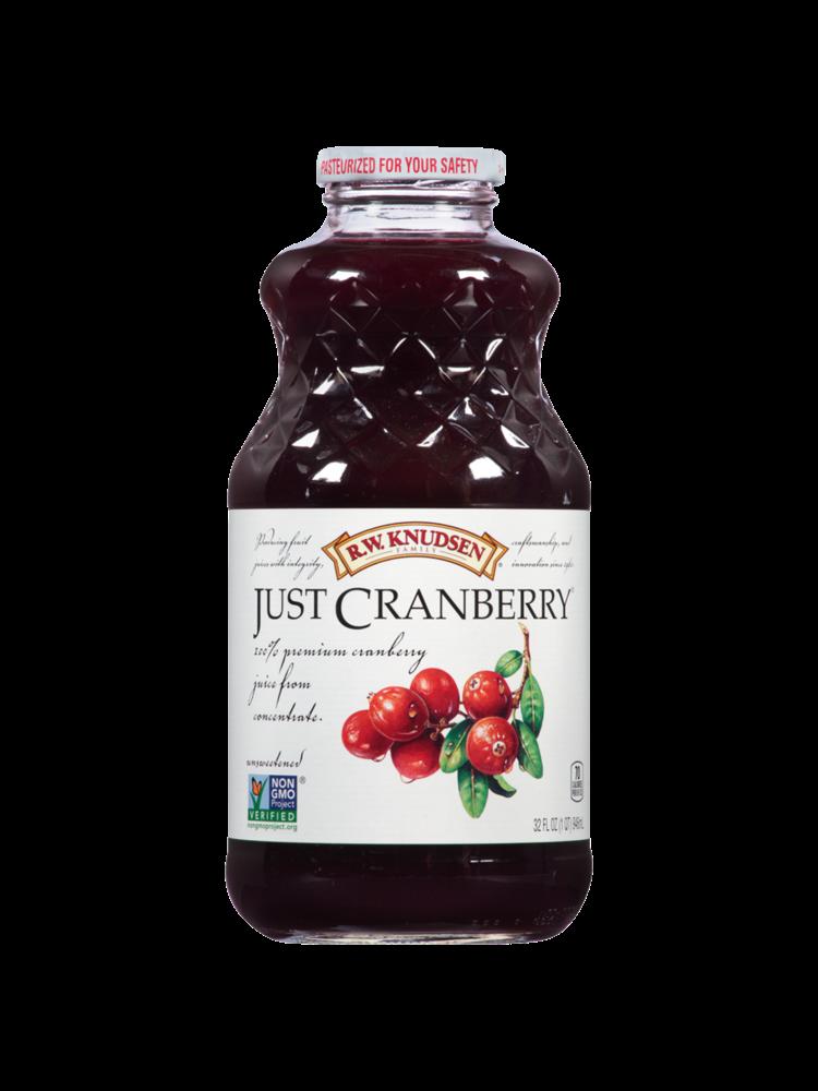 R.W. Knudsen, Just Cranberry Juice, 32 oz