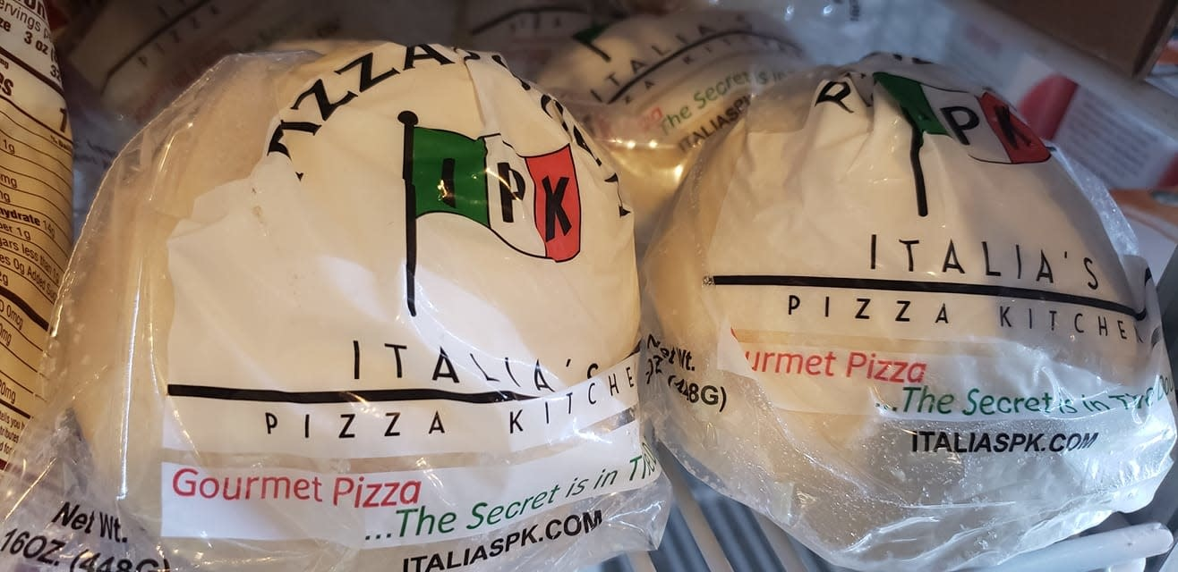 IPK Frozen Pizza Dough Ball, Huntington Beach, California