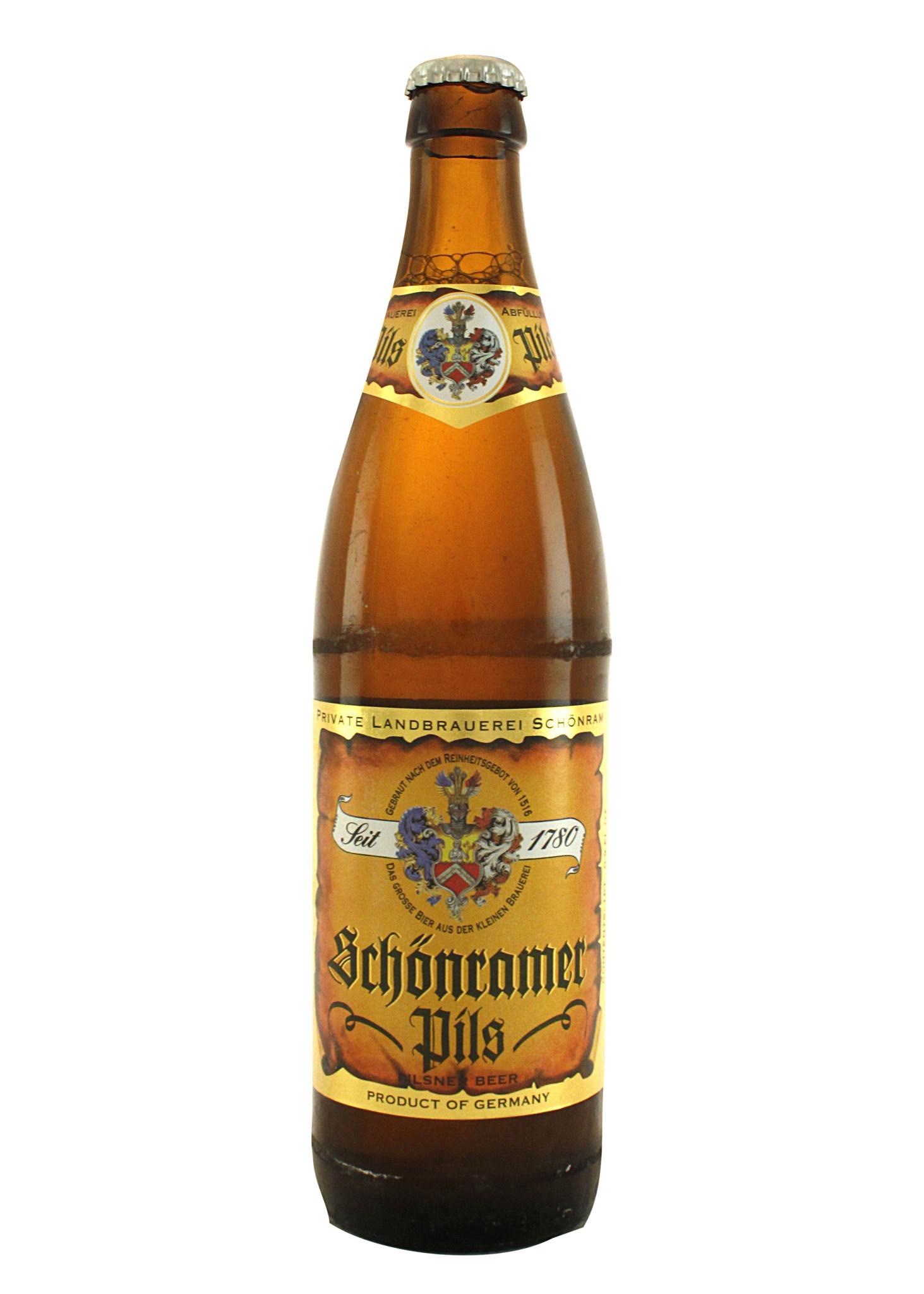 Schonramer PIls, Germany, 500ml. bottle