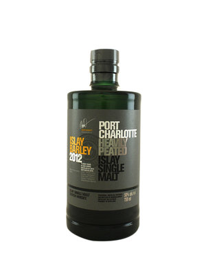 "Bruichladdich ""Port Charlotte"" Islay Barley 2012 Heavily Peated Islay Single Malt  Scotch Whisky"