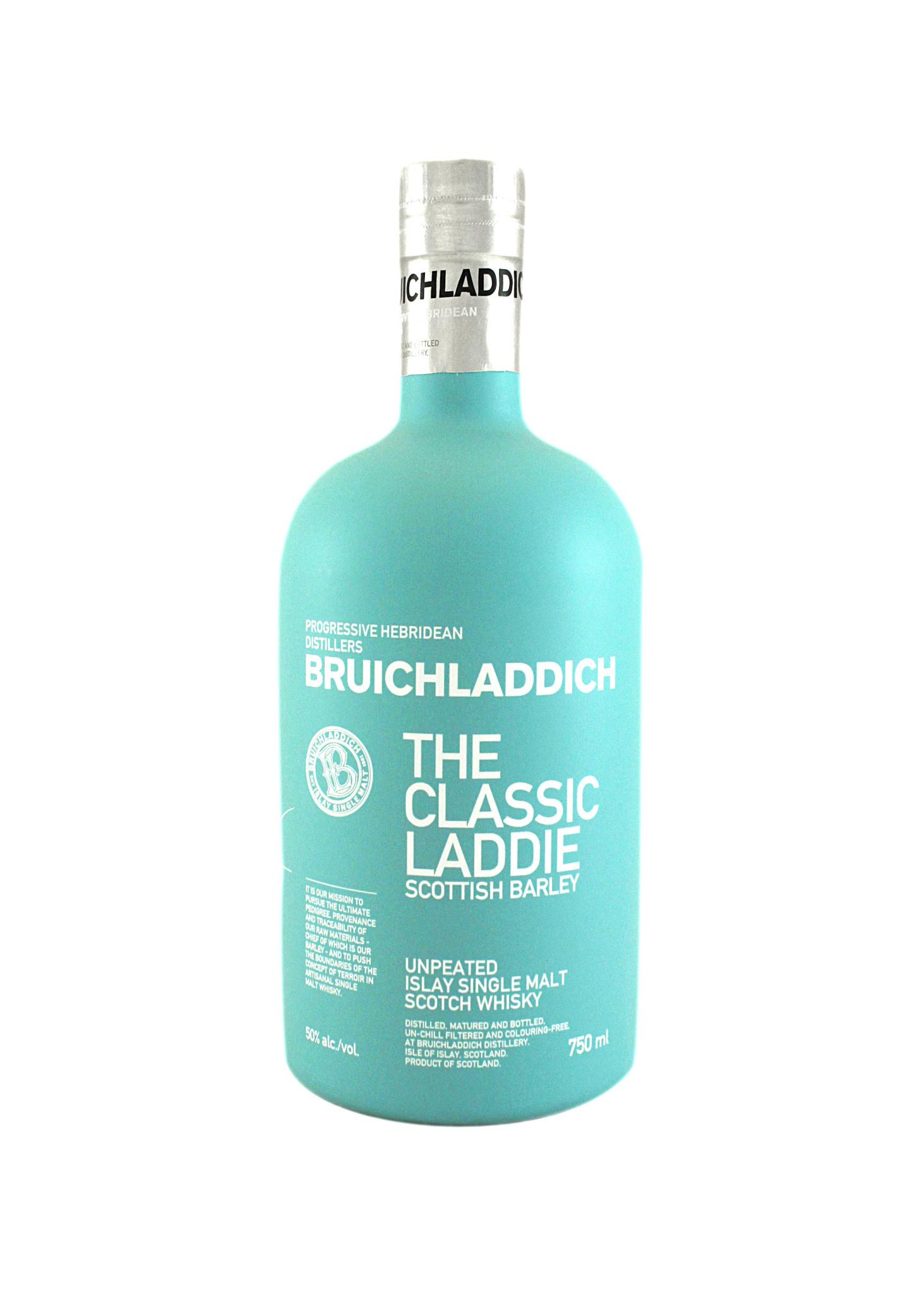 """Bruichladdich """"Classic Laddie"""" Scottish Islay Barley Scotch Whisky"""