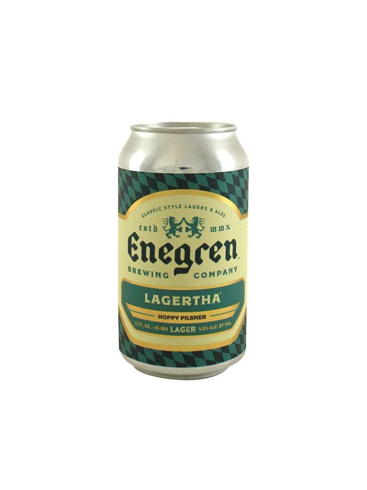"Enegren ""Lagertha"" Pilsner - 12oz.  Can  -  Ventura, CA"