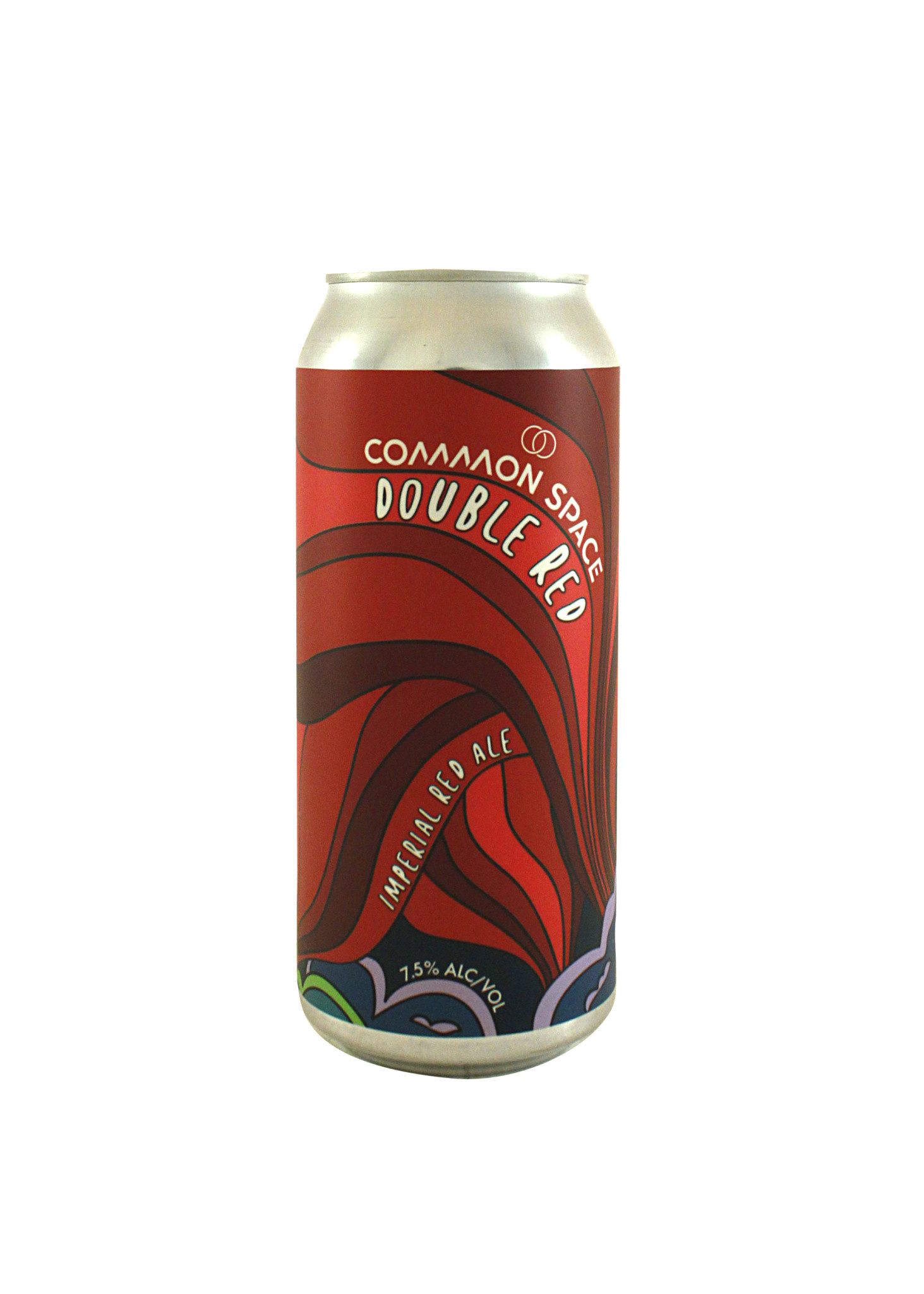 """Common Space Brewery """"Double Red Ale"""" Imperial Red ale 16oz can- Hawthorne, CA"""