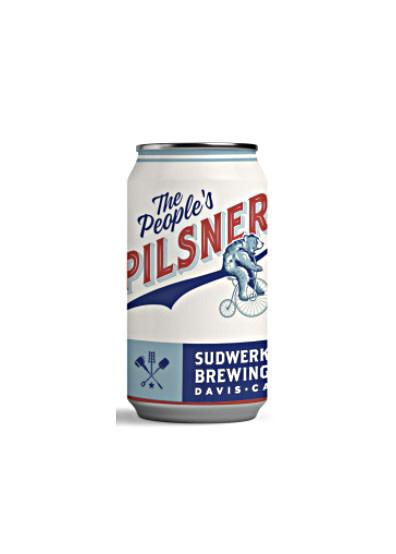 """Sudwerk Brewing """"People's Pilsner"""" - 12oz can"""