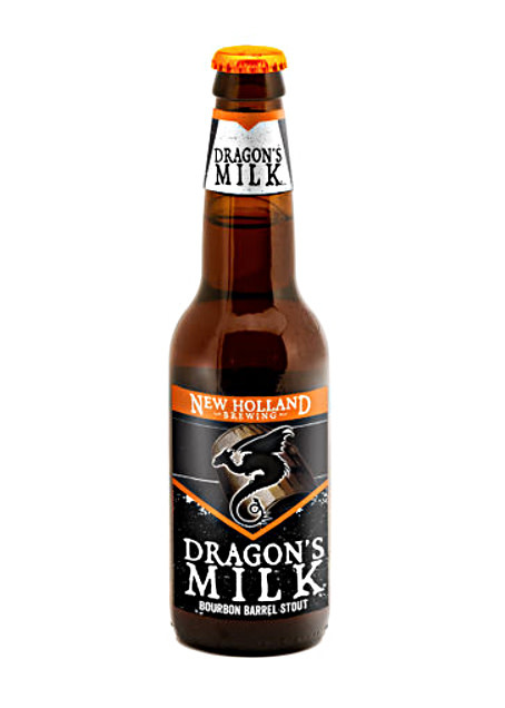 "New Holland Brewing ""Dragon's Milk"" Bourbon Barrel-Aged Stout, Michigan - 22oz"