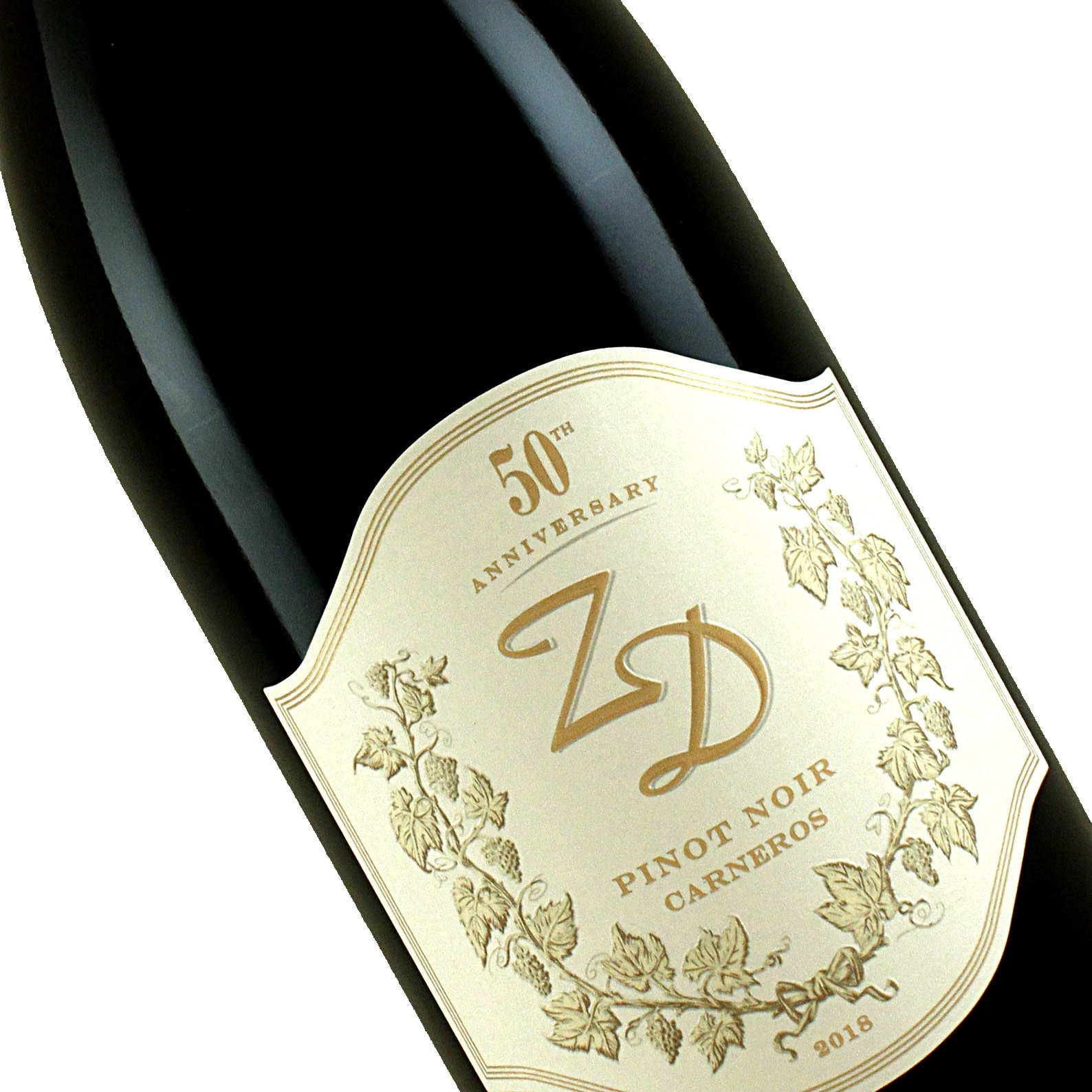 "ZD Wines 2018 Pinot Noir ""50th Anniversary"" Napa Valley"